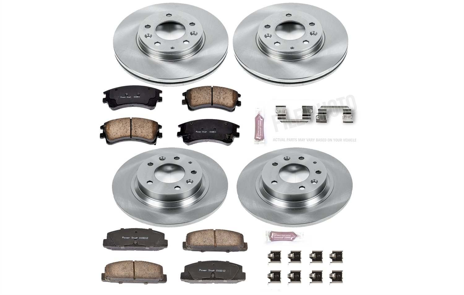 Autospecialty KOE2449 1-Click OE Replacement Brake Kit