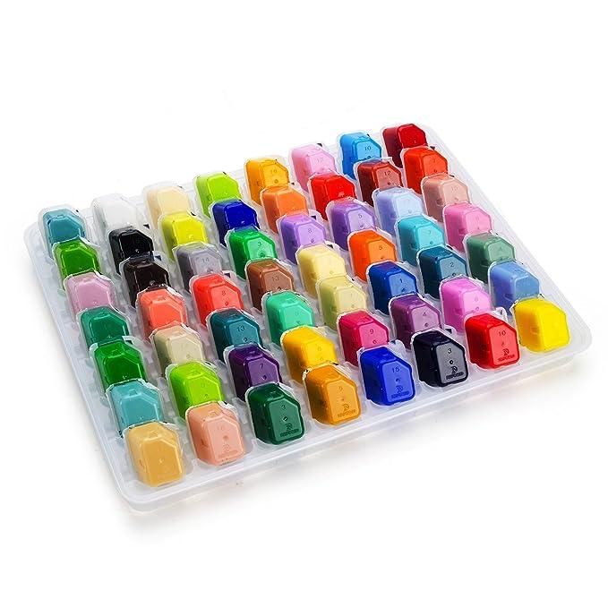 Amazon.com: Juego de pintura de gouache de color portátil ...