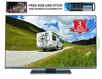 Avtex L249DRS PRO 24″ 12v/24v TV with FREE 8GB USB RECORDING STICK AND  SCREEN CLEANER, built in DVD, Freeview HD, Satellite Tuner, Twin Tuner USB