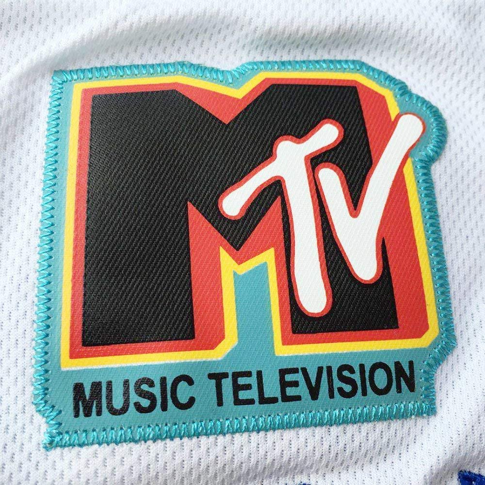 Mens Basketball Jersey #19 Aaliyah Brick Layers 1996 MTV Rock N Jock Jersey