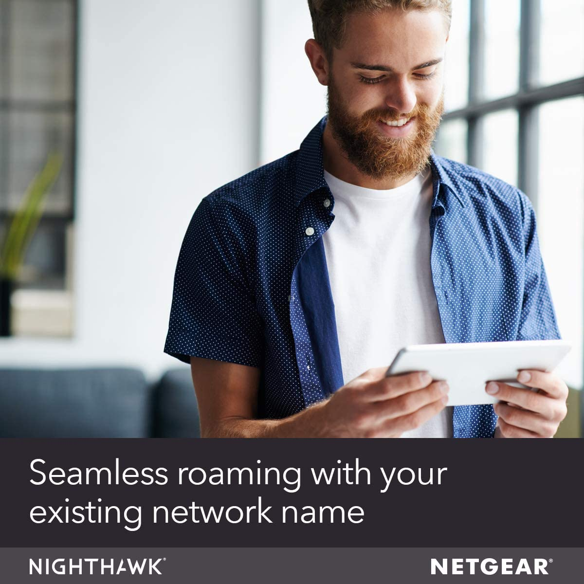NETGEAR WiFi Mesh Range Extender EX7000 - Coverage up to 2100 sq.ft. and 35 devices with AC1900 Dual Band Wireless Signal Booster & Repeater (up to 1900Mbps speed), plus Mesh Smart Roaming: Computers & Accessories