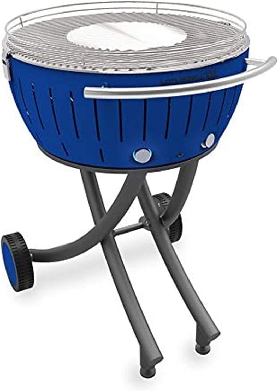 Griglia a Rotelle LotusGrill XXL Barbecue a Carbone Grigio Nuovo Incl