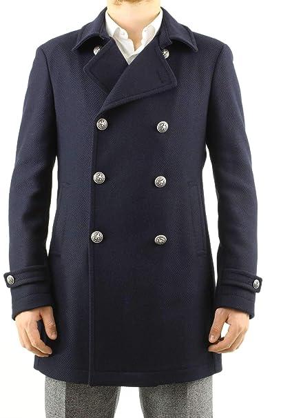 TAGLIATORE CHARLIE34UIC199 Cappotto Uomo Blu 48  Amazon.it  Abbigliamento 7219ba03081