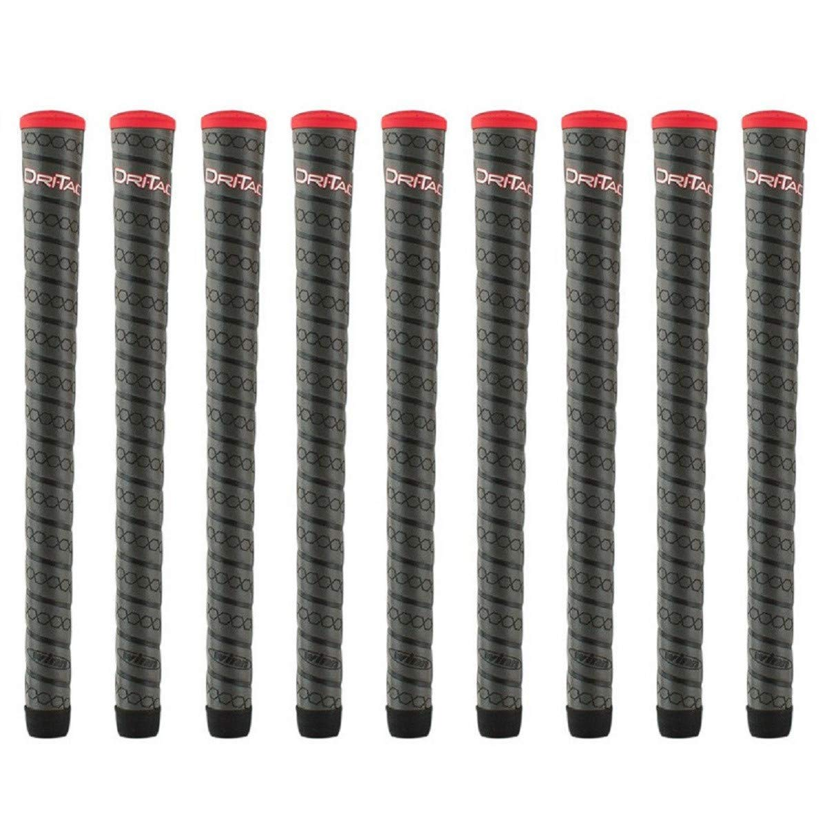 Winn Dri-Tac Wrap Standard - 9 Piece Golf Grip Bundle