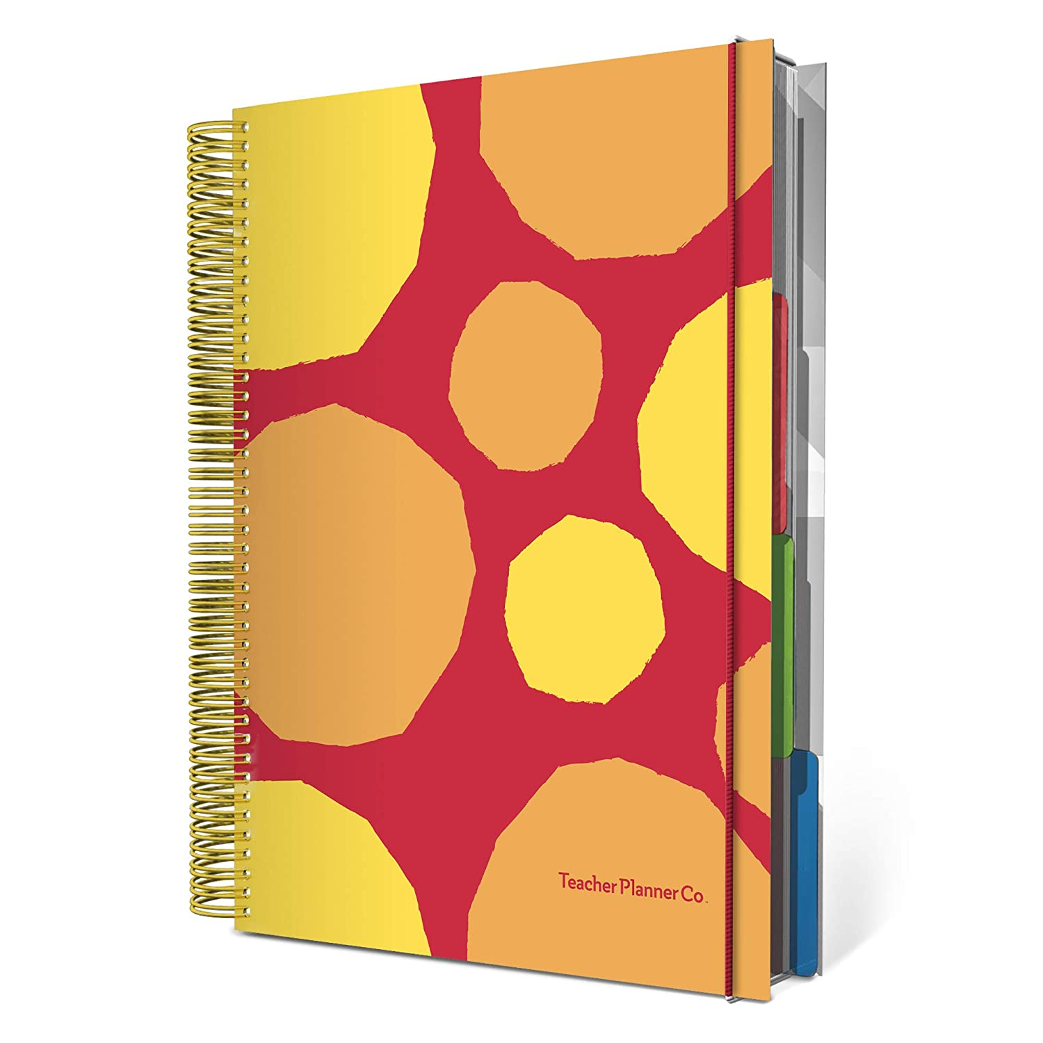 Gold Marble 6 Period Teacher Planner 2019-20 Special Edition
