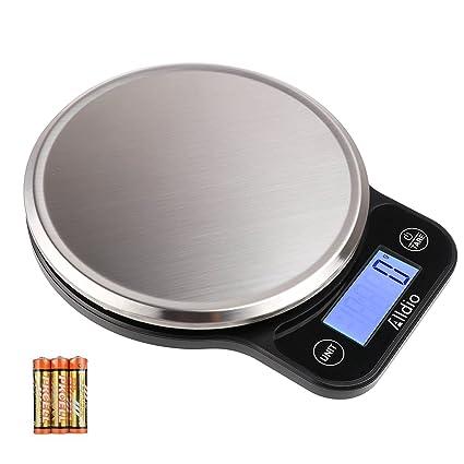 Báscula de Cocina Digital con retroiluminación Grande 1 G/5000 g LCD pequeño Alimentos Báscula