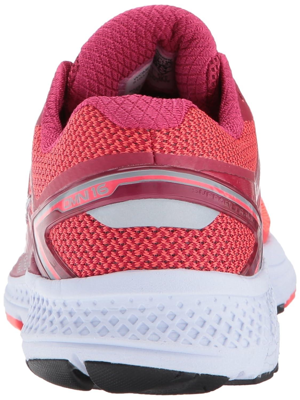 Saucony Women's Omni 16 B(M) Running Shoe B01MU3CXBK 5.5 B(M) 16 US|Berry Coral f58702