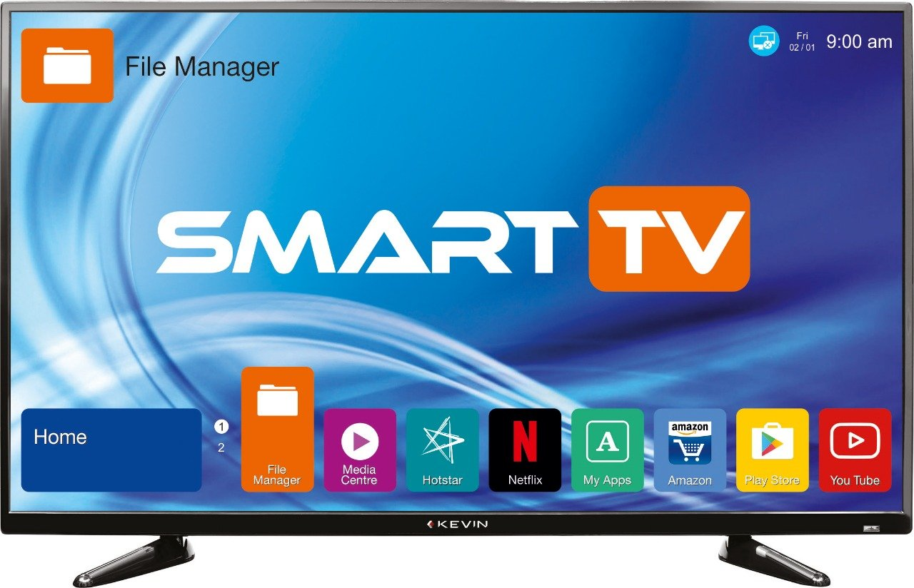 Kevin 102 cm KN40S Full HD LED Smart TV: Amazon.in: Electronics