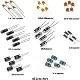 Deepak Enterprise Electronics Project Spares Assorted Capacitors