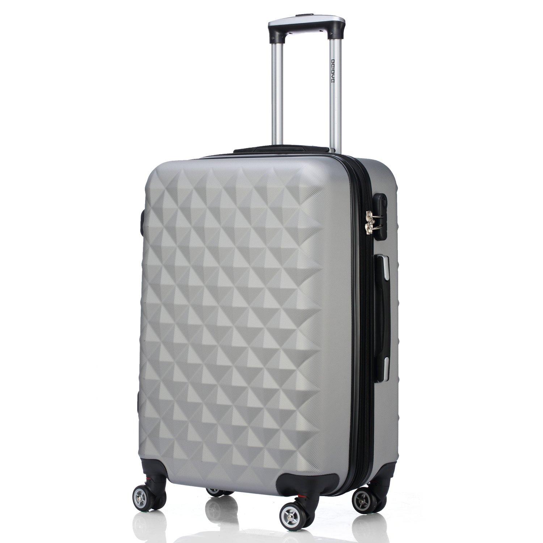 Zwilling Juego de maletines con ruedas rígidas de viaje colores plateado medium