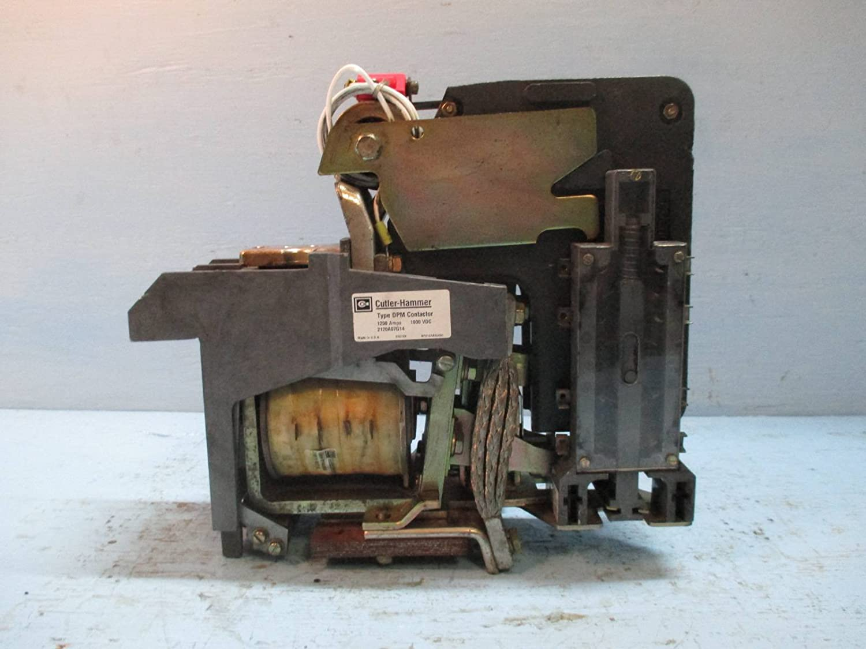 Cutler Hammer DC Contactor 2120A07G14 Type DPM 1000 VDC 1250