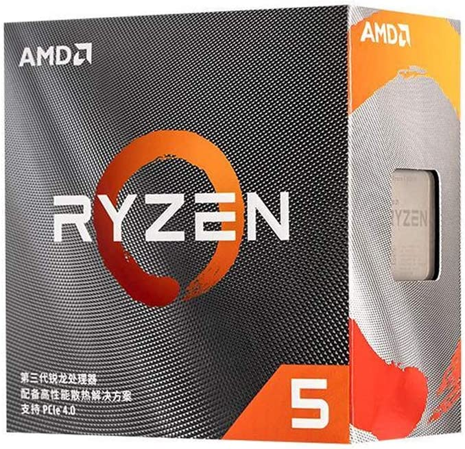AMD 100-100000158BOX RYZEN 5 3500X 6-Core 3.6 GHz (4.1 GHz Turbo) Socket AM4 65W Desktop Processor
