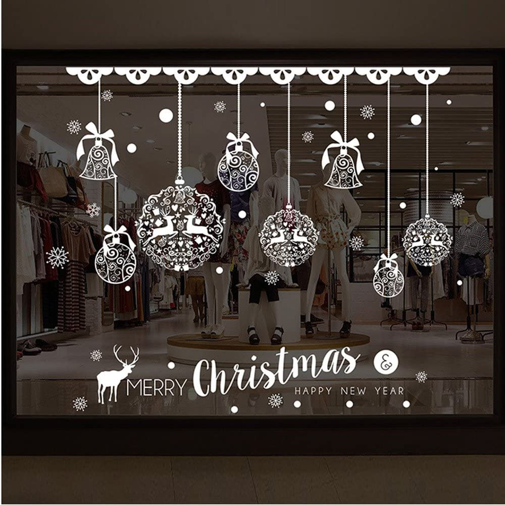 Christmas Shop Window Decoration Wall