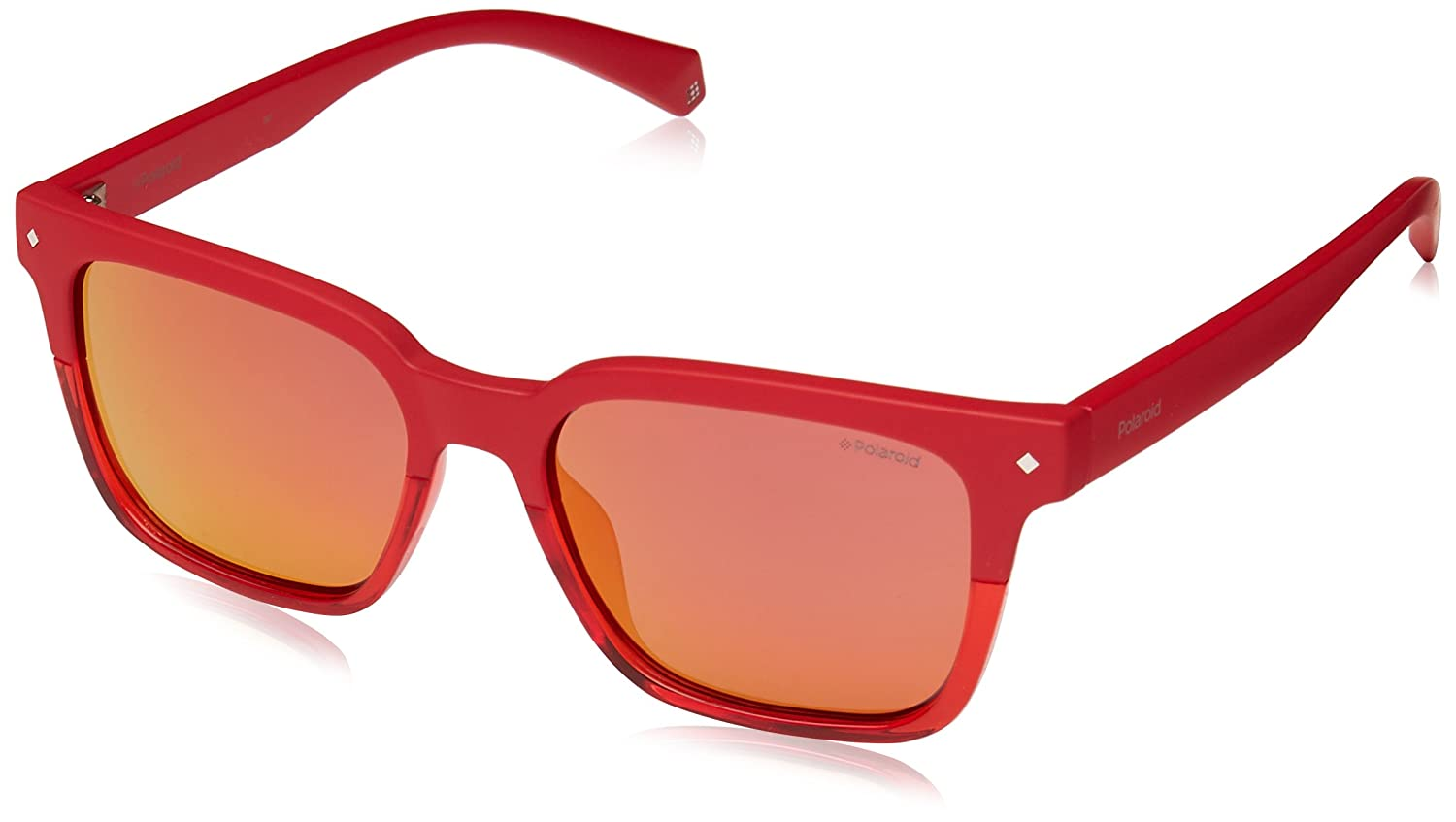 Amazon.com: POLAROID SUNGLASSES PLD 6044 S C9A OZ RED ...