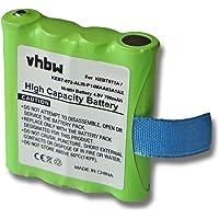 vhbw Baterías NiMH 700mAh (4.8V) para Dispositivos de Radio Motorola TLKR T3, T4, T5, T6, T7, T8, T50. reemplaza…