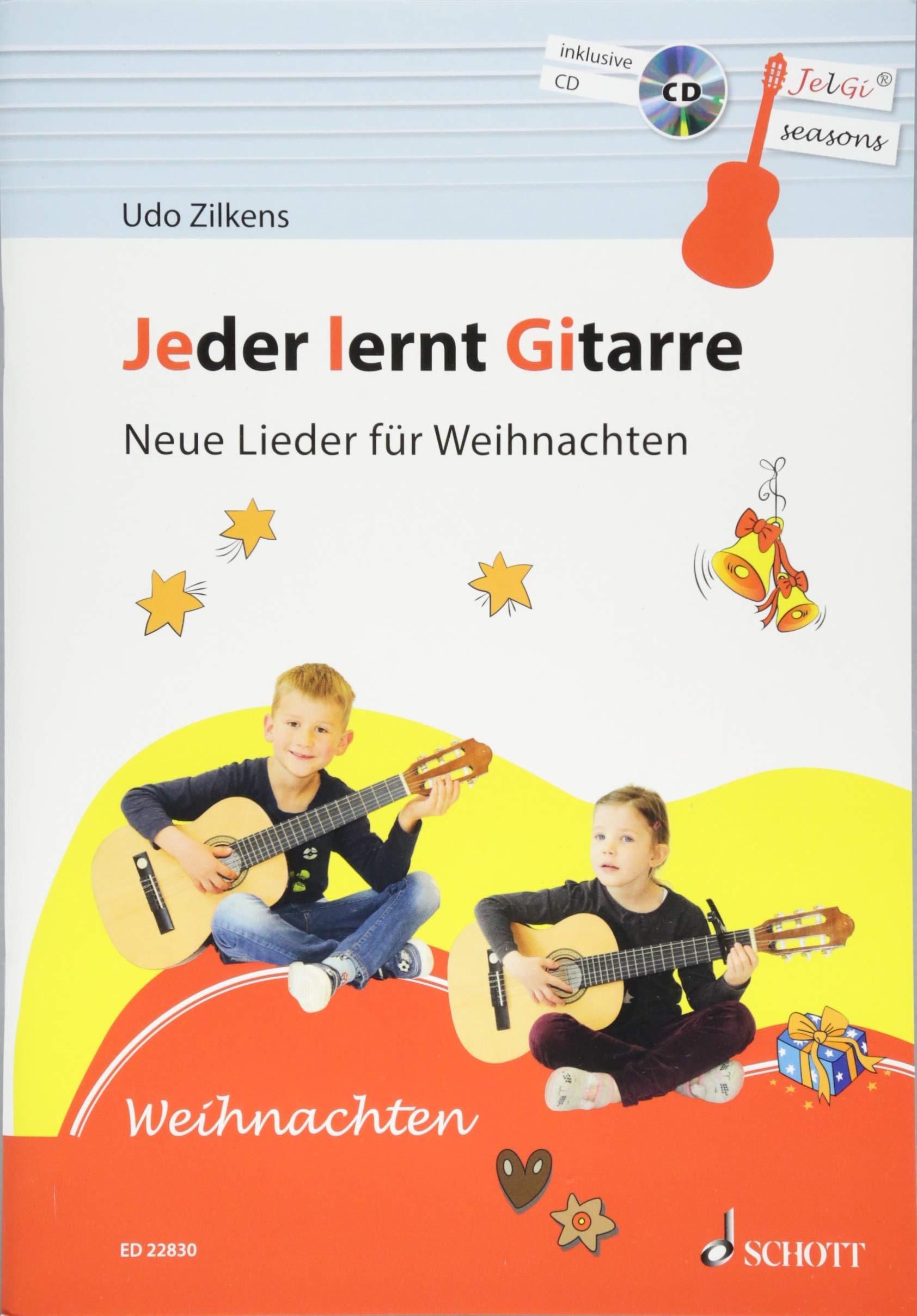 Jeder lernt Gitarre - Neue Lieder für Weihnachten: JelGi-Liederbuch ...