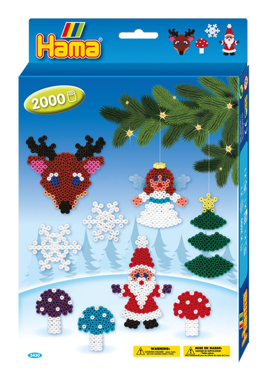 Christmas Hama Beads.Hama Beads Christmas Set