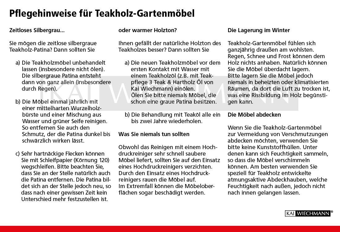 Teakholzmöbel patina  Amazon.de: Fano Teakholz-Klapptisch für den Garten, 120x70cm ...