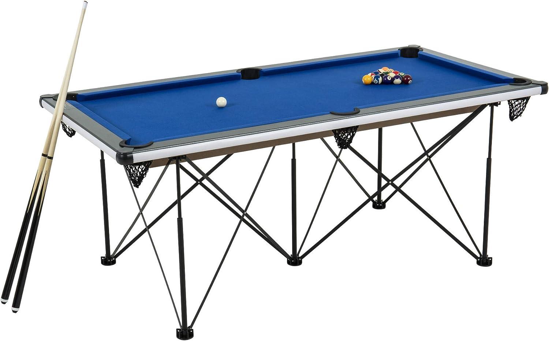 Triumph Sports 6' Portable Pop Up Folding Pool Table