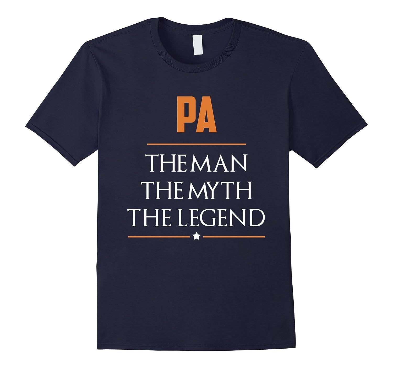 Pa The Man The Myth The Legend T Shirt-TH