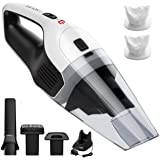 Amazon Price History for:Handheld Vacuum Cordless, HoLife Vacuum Cleaner Rechargeable Hand Vac Cordless Car Vacuum 14.8V 100W Lightweight Portable Vacuum Wet Dry Dust for Home and Car Cleaning (2 Washable Filters)