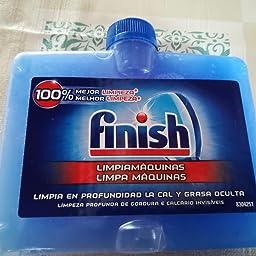 Finish Limpiamáquinas Líquido para Lavavajillas Regular Duplo - 2 ...
