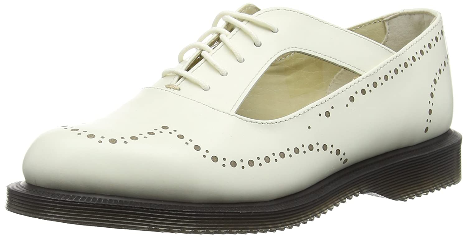 Dr. Martens Women's Ruby Polished Smooth Brogue Size: 7 UK