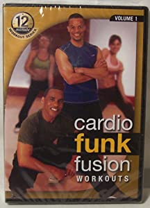 Cardio Funk Fusion Workouts, Volume 1, 12 Minute Workout Series, 4 Complete Workouts (Foundation, Total Body Funk, Total Body Burn, Advance Fusion Burn), Ferguson/Crawford, The Food Lovers Fat Loss System, DVD