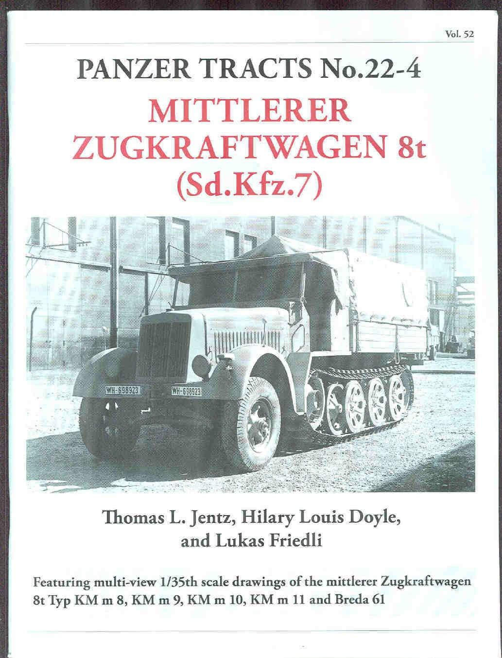 Leichter Zugkraftwagen 3t Panzer Tracts No.22-2