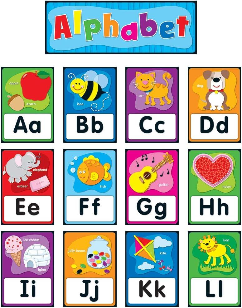 Carson Dellosa Alphabet Bulletin Board Set 119004