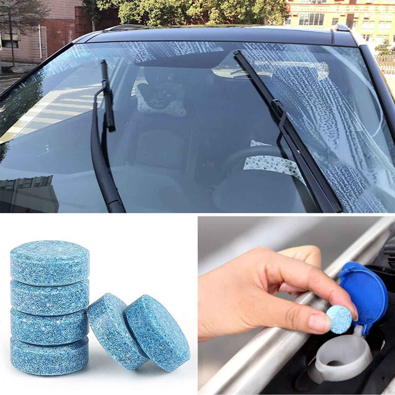 Solid Car limpiaparabrisas Limpiador de vidrio de alto rendimiento automático de ventana de las fuentes de limpieza: Amazon.es: Bebé