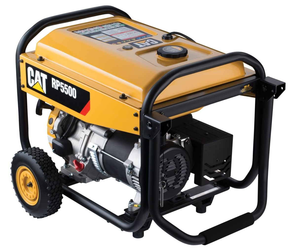 Cat Rp5500 5500 Running Watts And 6875 Starting Generator Avr Circuit Source Abuse Report Diesel Gas Powered Portable 490 6489 Garden Outdoor