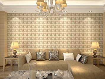 Felicity 3 D Wall Panels Dining Room Living Room Bedroom Feature Wall Decor  (3 Square Part 44