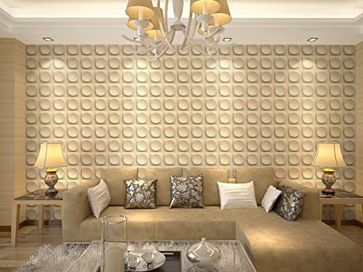 Felicity 3 D Wall Panels Dining Room Living Bedroom Feature Decor Square