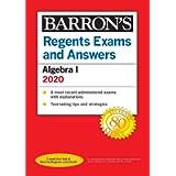 Regents Exams and Answers: Algebra I 2020 (Barron's Regents NY)