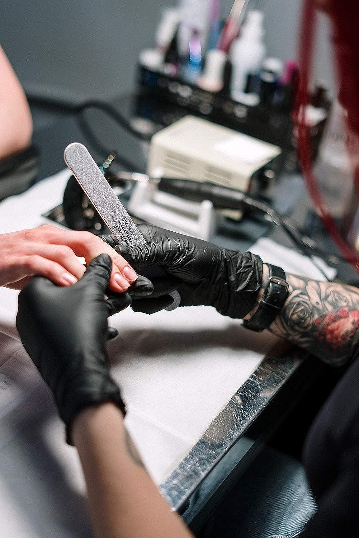 /& Puderfrei 100 Paar Einweg-Handschuhe Latex ACE Guard Einweghandschuhe