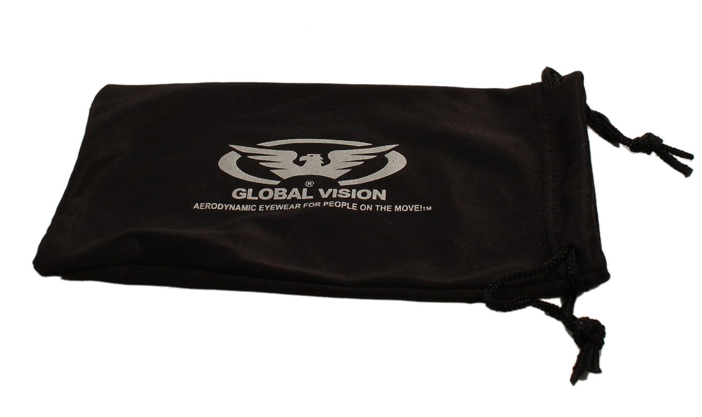 nuit moto incassable verres motard lunettes de soleil enveloppantes incassables compl/ètes avec /étui microfibre de stockage gratuit Global Vision UV400 faible lumi/ère