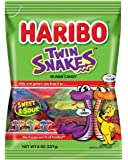 Haribo of America Twin Snakes, 1 Bag, 8 Ounces
