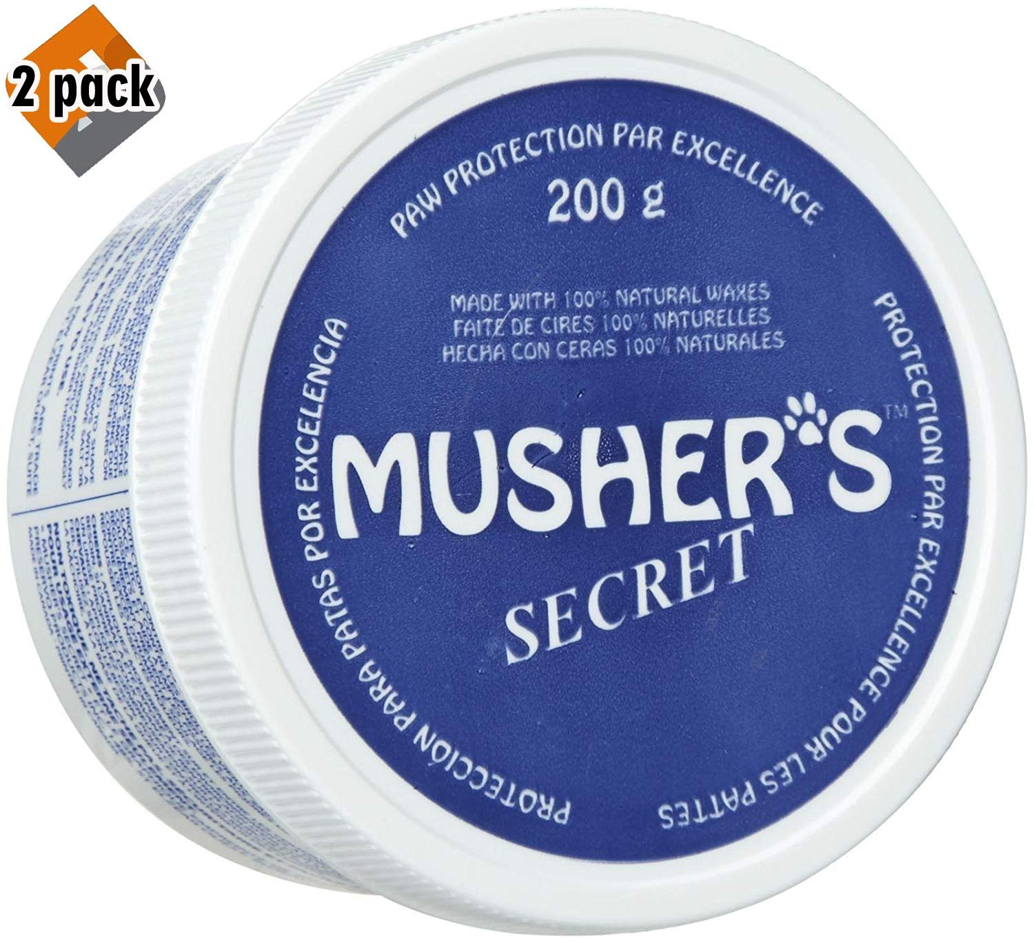 Amazon.com: Mushers Secret Pet Paw Protection Wax: Mascotas