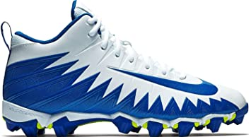 best sneakers 91b3f 18824 Nike Men s Alpha Menace Shark Football Cleat White Game Royal Size 9.5 ...