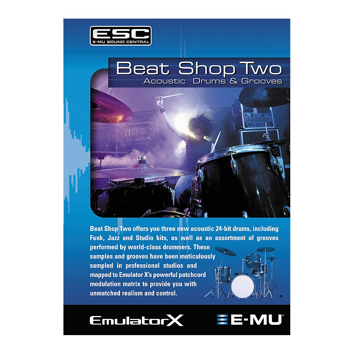 E-MU EM8662 Beat Shop 2 Emulator X2/Proteus X2 Soundsets by Emu