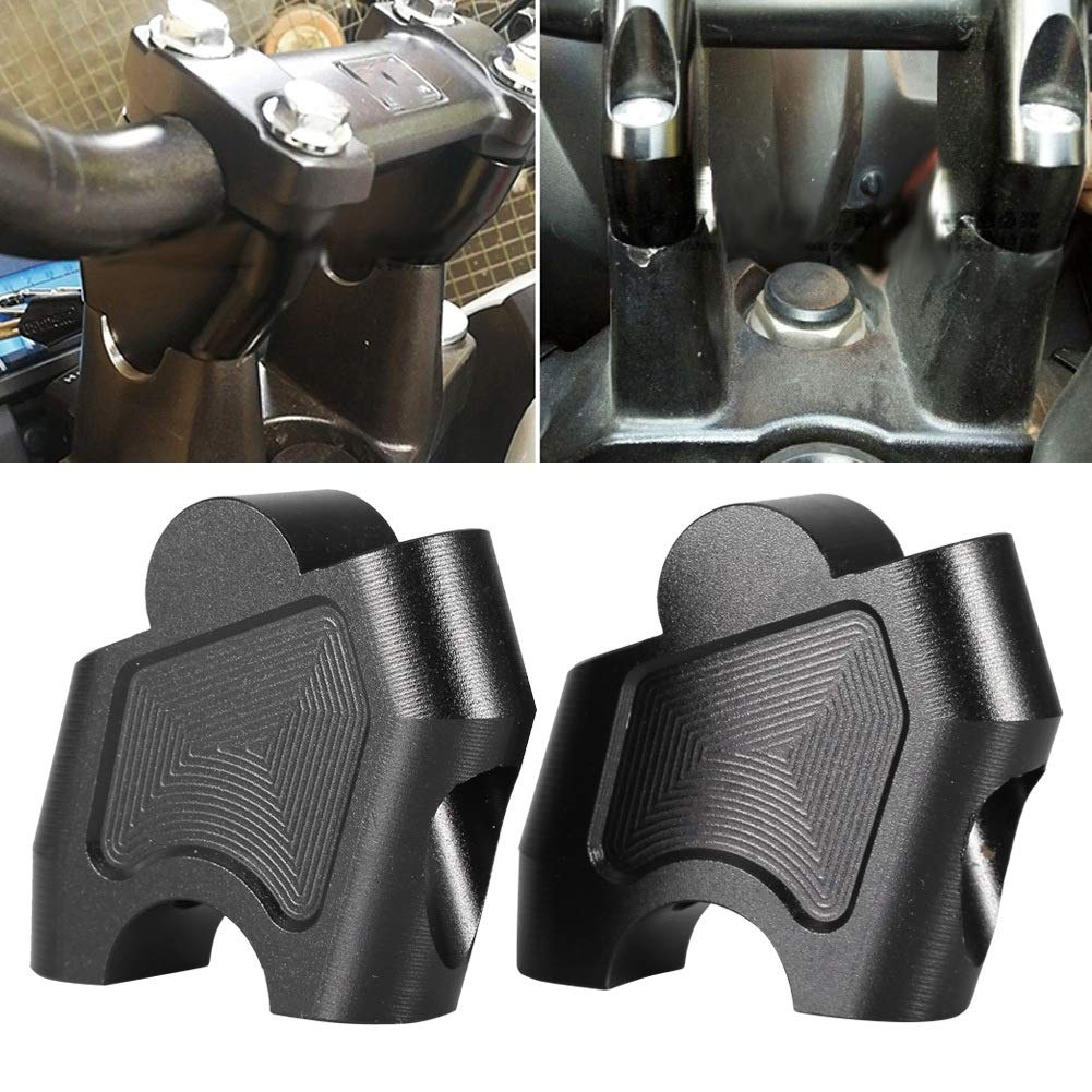 Moto Riser CNC Motorcycle Riser sollevamento morsetto del manubrio Compatibile con la Honda NC700X NC700S NC750X NC750S CB500F CB500
