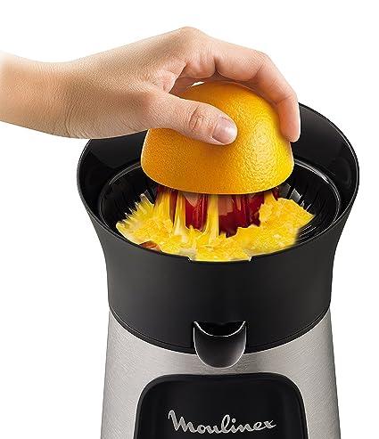 Moulinex Vitapress Direct Serve PC603D10 - Exprimidor, 100 W, directamente en el vaso, 3 conos para limones, naranjas, pomelos [Clase de eficiencia ...