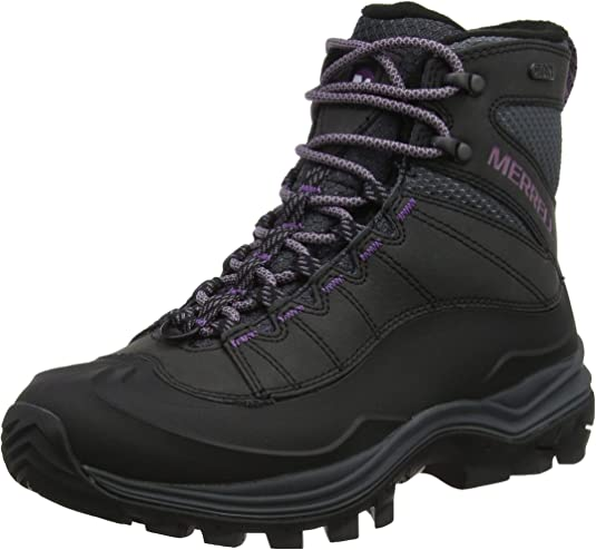 TALLA 35 EU. Merrell Thermo Chill Mid Shell Waterproof, Botas de Nieve para Mujer