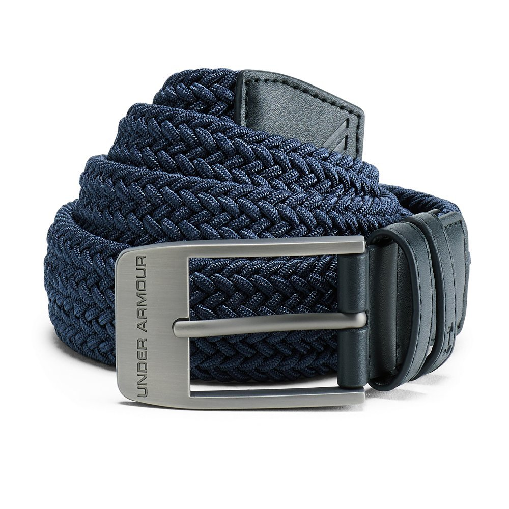 Under Armour Men's Braided Belt 2.0, Academy (408)/Anthracite, 30