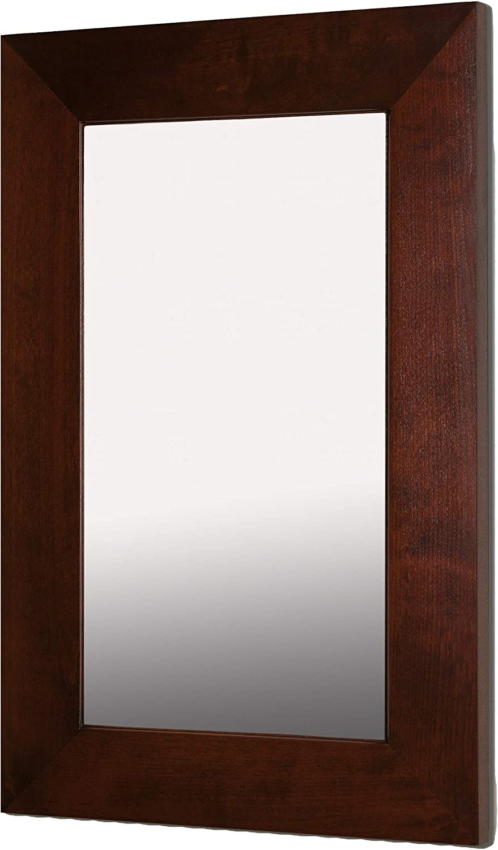 """14""""x24"""" Mirrored Medicine Cabinet (Espresso) 71YpDFfOUOL"""