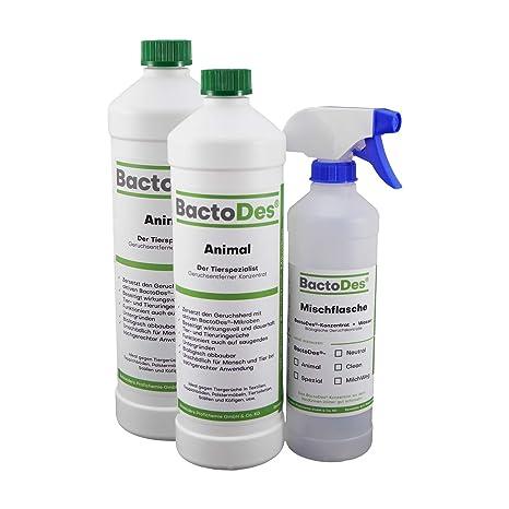 BactoDes - Eliminador de olores (concentrado para diluir ...