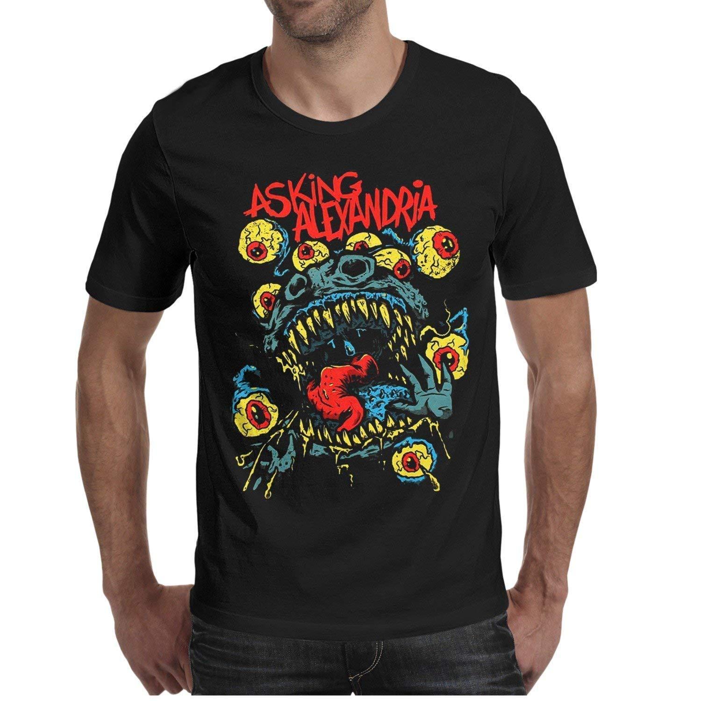 Amazon Luzuoq Mens T Shirts Asking Alexandria Denis Stoff Danny