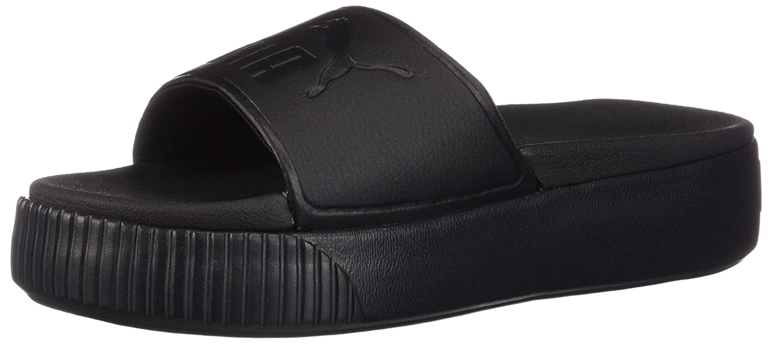 4e3180e38ada PUMA Womens Platform Slide Bold WNS Sport Sandals   Slides  Amazon.ca   Shoes   Handbags