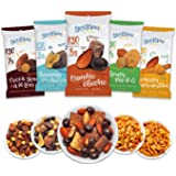 Youtopia Snacks Delicious 130-calorie Snack Packs, High-Protein Low-Sugar Gluten-free GMO-free Healthy Snacks, 1oz Snack Packs (Pack of 10), Variety Pack